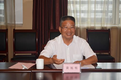 浙江省副省长黄旭明观察中茶拍娱乐